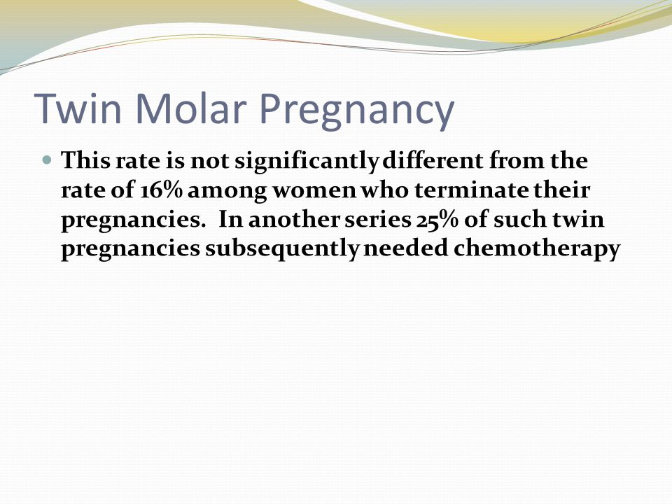 Twin Molar Pregnancy