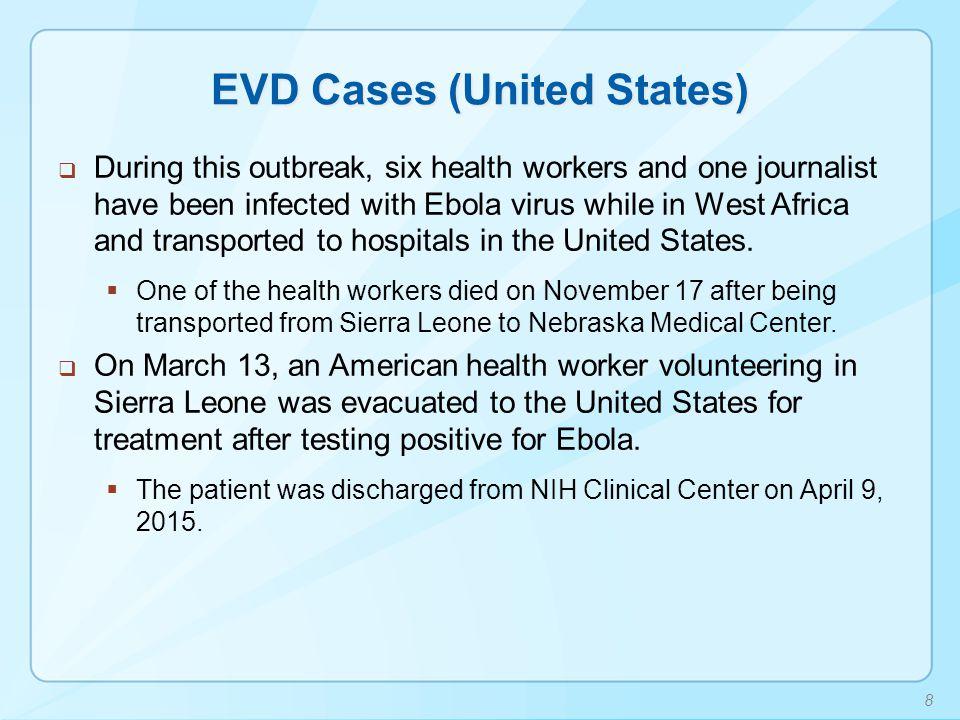 EVD Cases (United States)