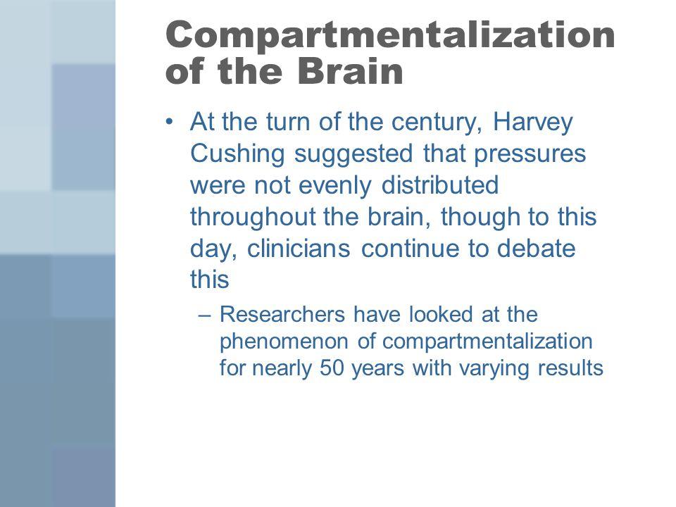 Compartmentalization of the Brain