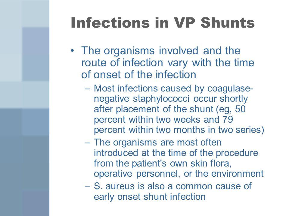 Infections in VP Shunts