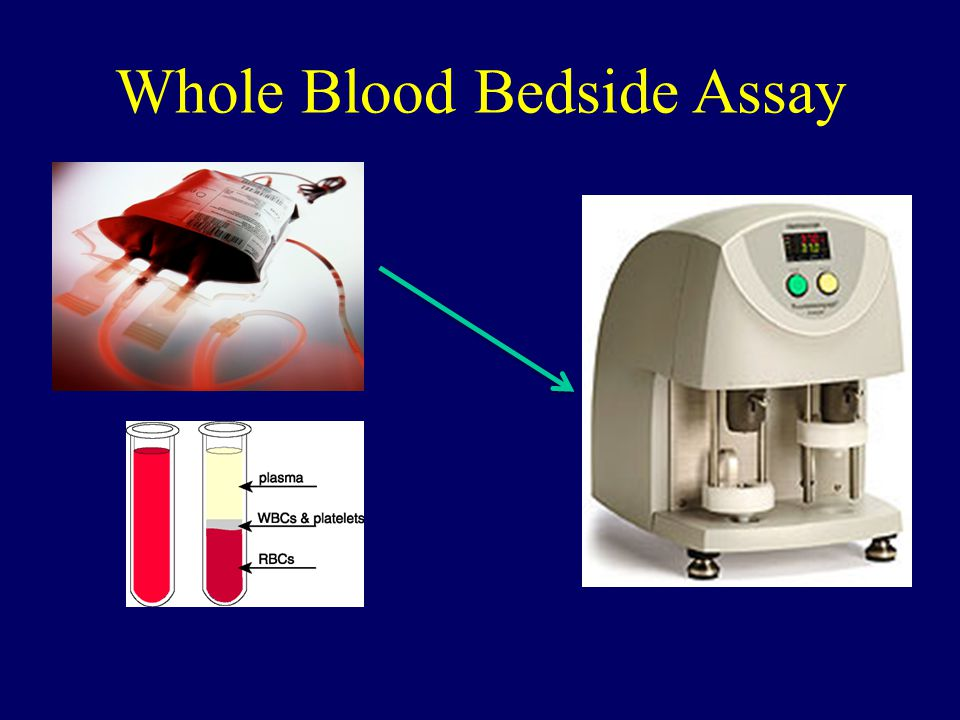 Whole Blood Bedside Assay