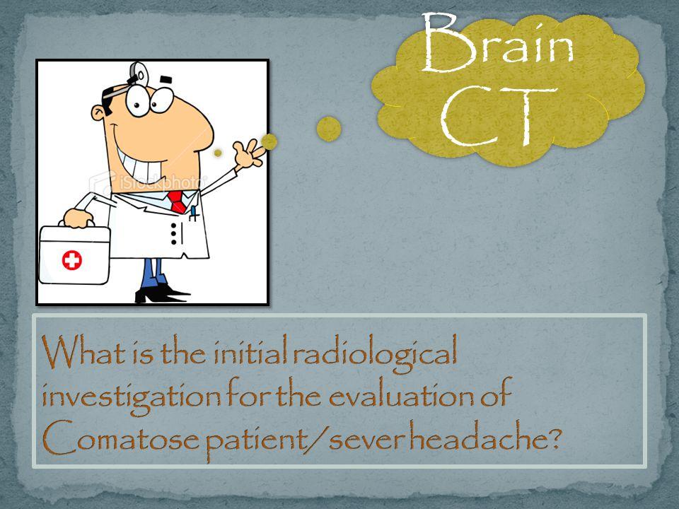 Brain CT.