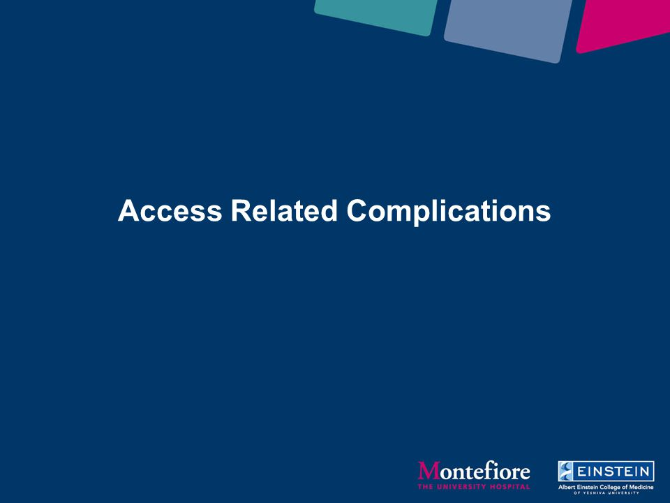 Access Related Complications