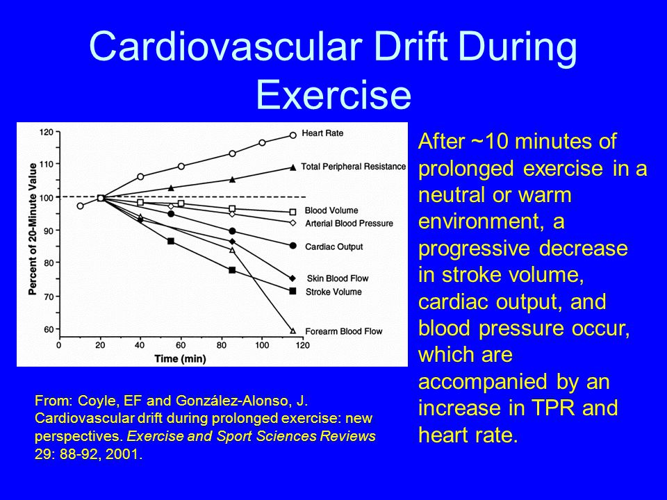 Cardiovascular Drift During Exercise