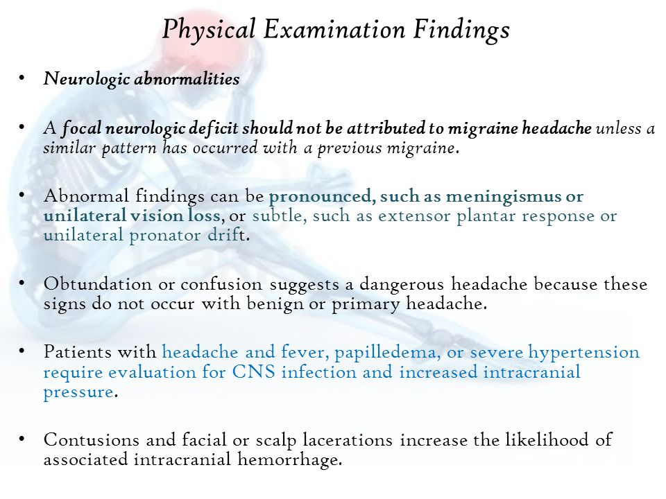 Physical Examination Findings