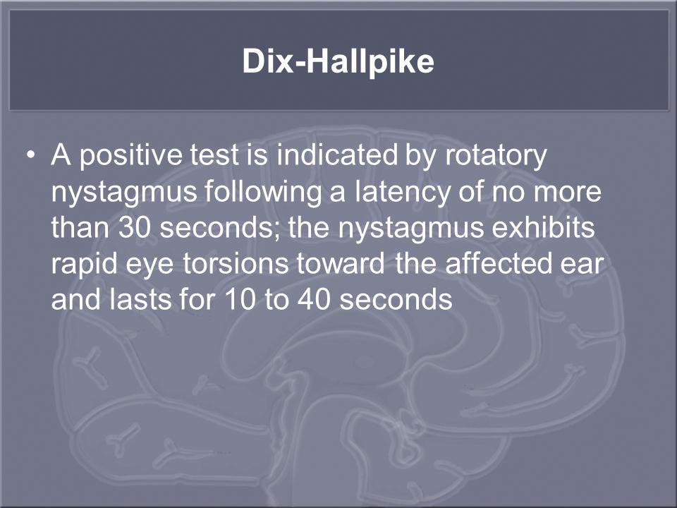 Dix-Hallpike