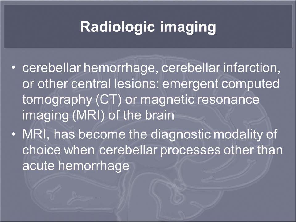 Radiologic imaging