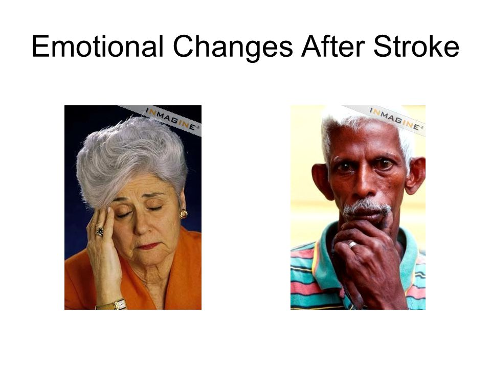Emotional Changes After Stroke