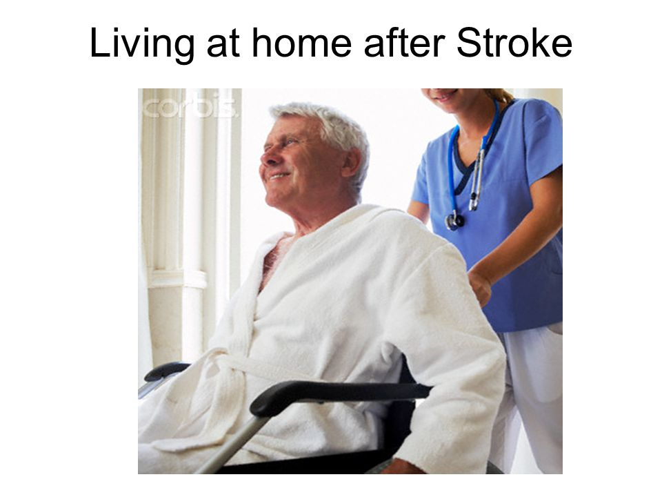 Living at home after Stroke