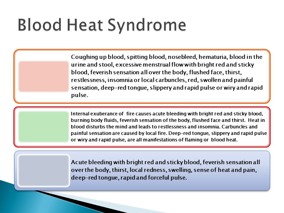 Blood Heat Syndrome