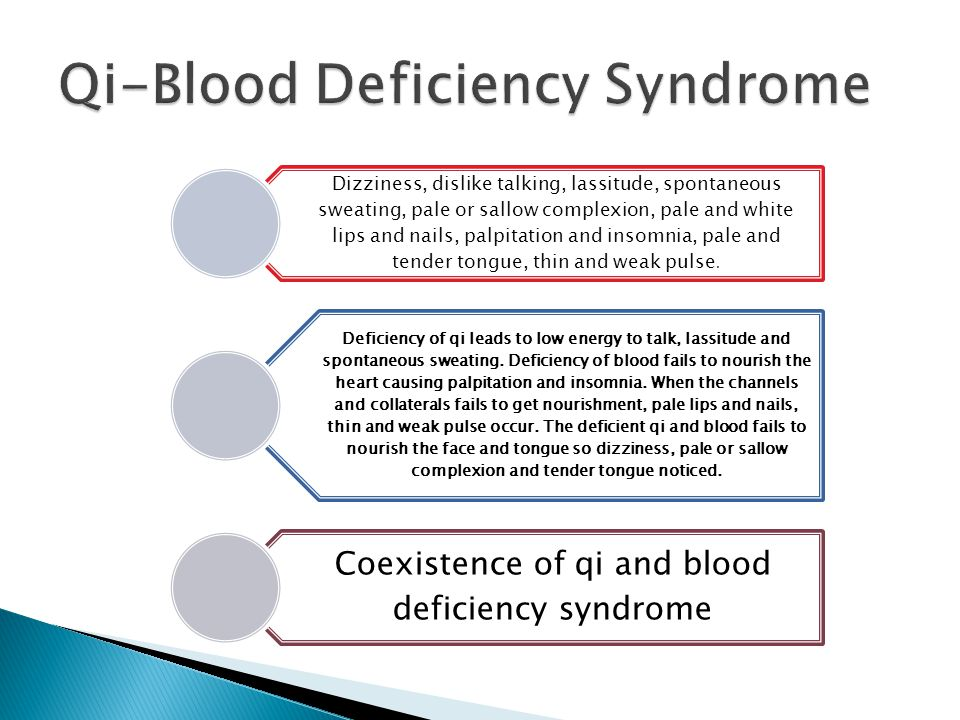 Qi-Blood Deficiency Syndrome