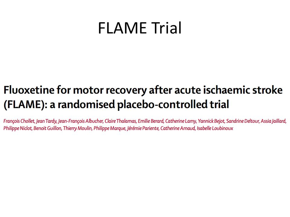 FLAME Trial