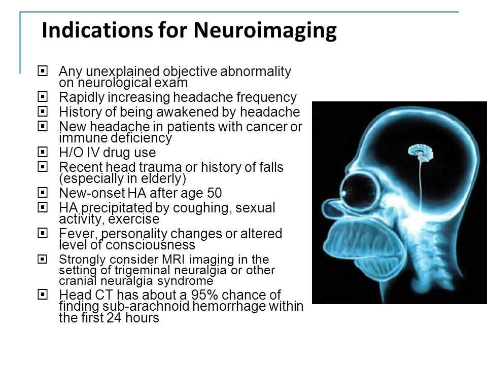 Indications for Neuroimaging