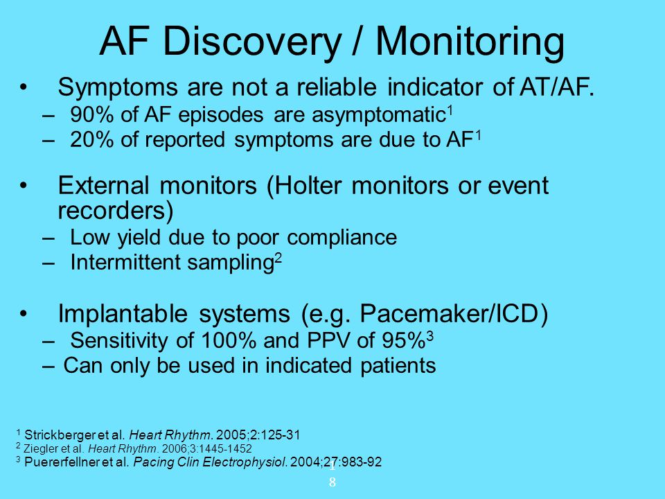 AF Discovery / Monitoring