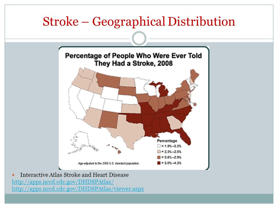 Stroke – Geographical Distribution