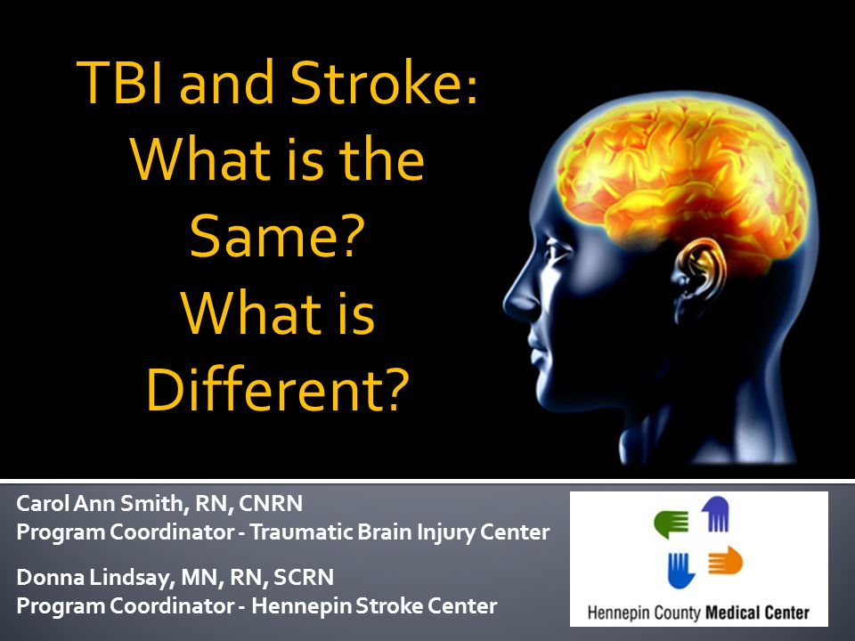 TBI and Stroke: What is the Same What is Different