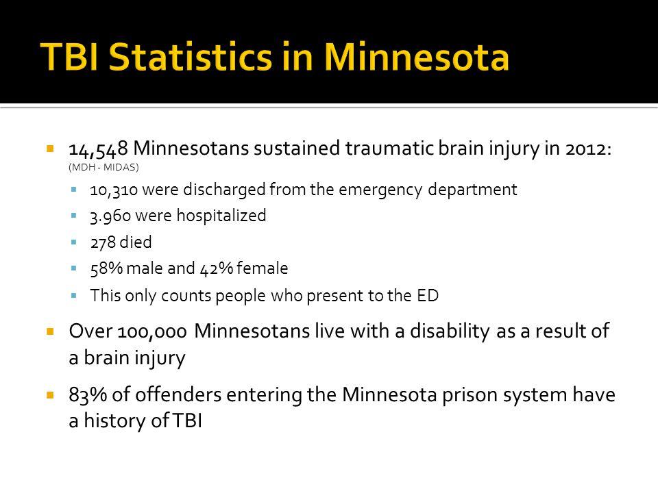 TBI Statistics in Minnesota