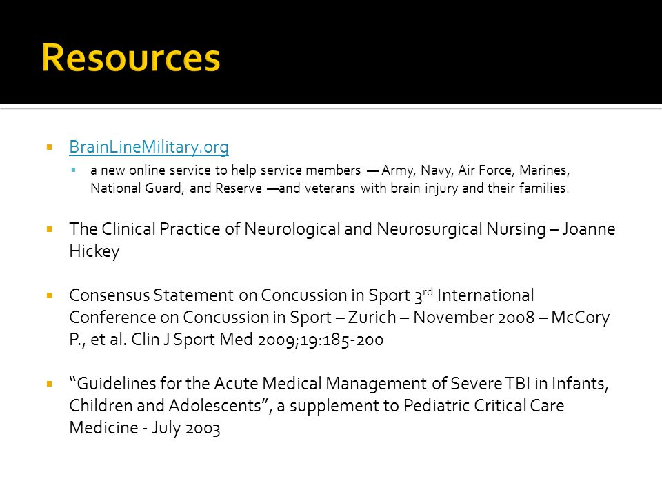 Resources BrainLineMilitary.org