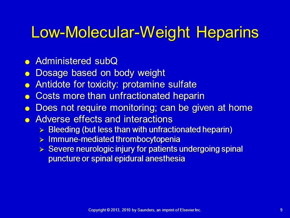 Low-Molecular-Weight Heparins