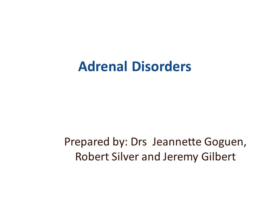 Prepared by: Drs Jeannette Goguen, Robert Silver and Jeremy Gilbert