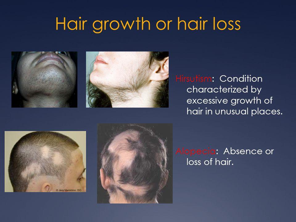Hair growth or hair loss