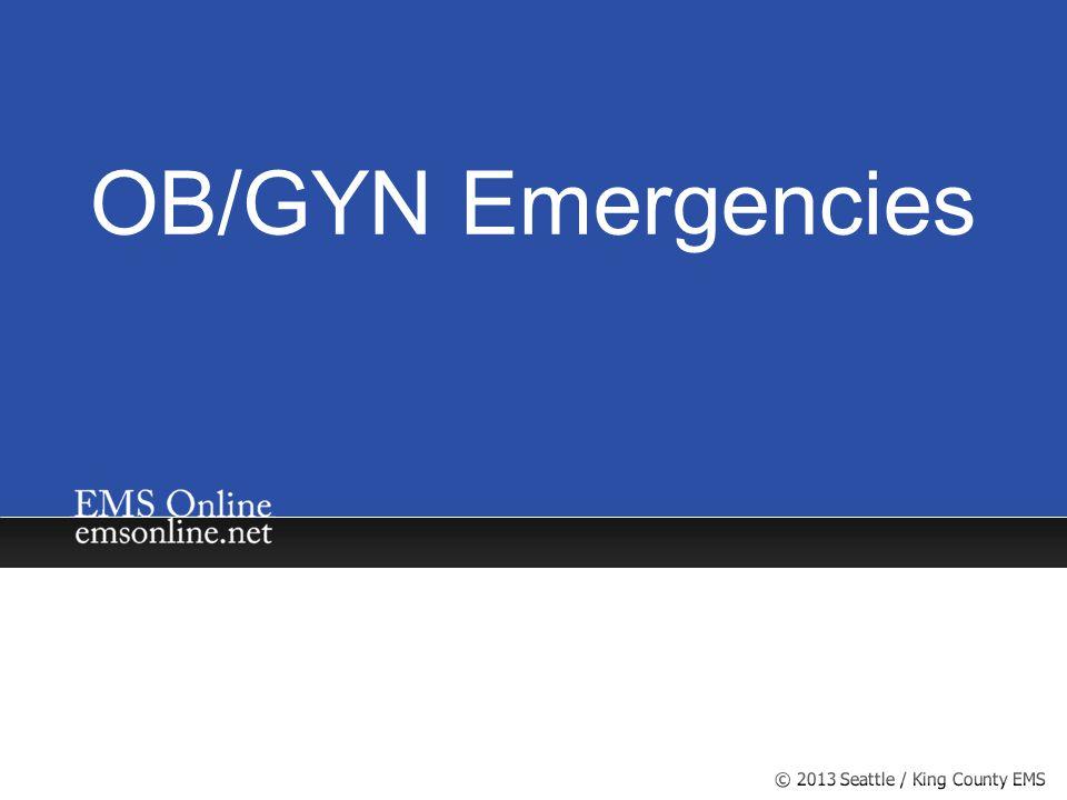 OB/GYN Emergencies