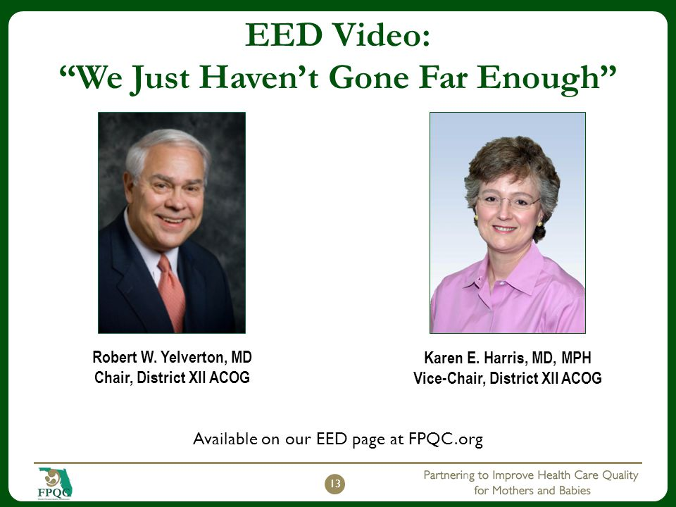 EED Video: We Just Haven't Gone Far Enough