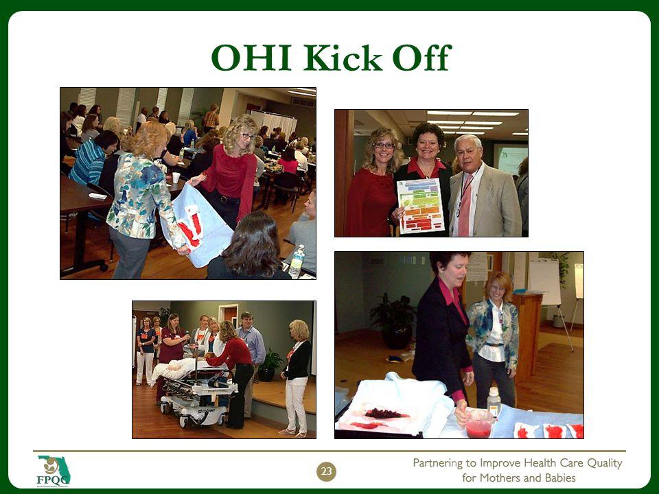 OHI Kick Off October 30, 2013