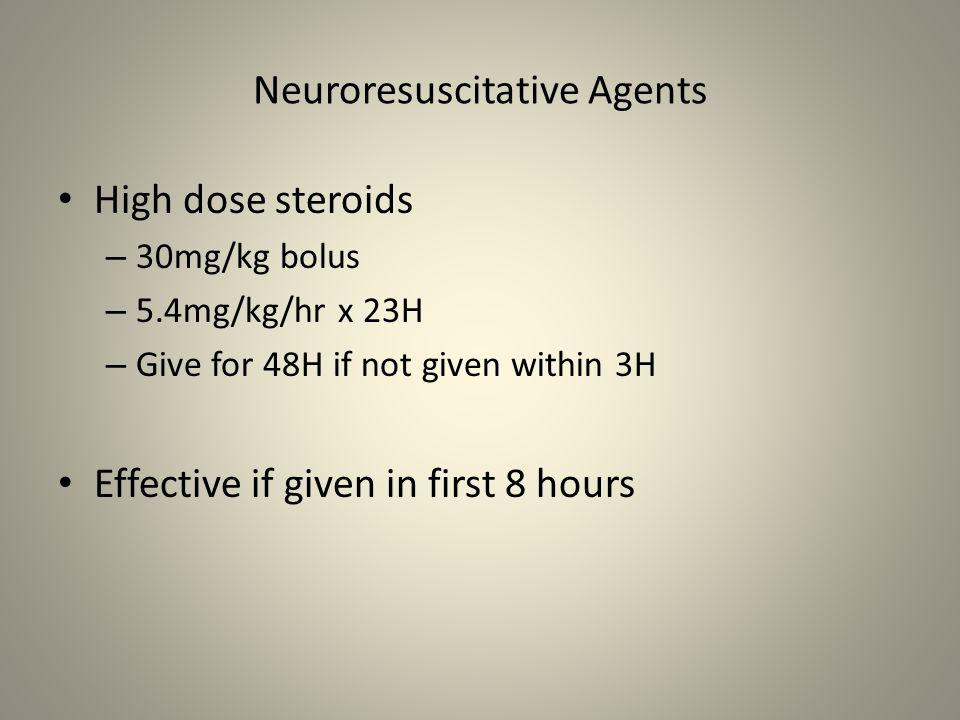 Neuroresuscitative Agents