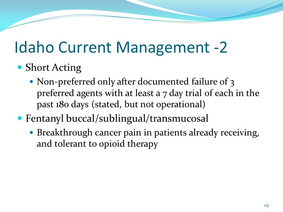 Idaho Current Management -2