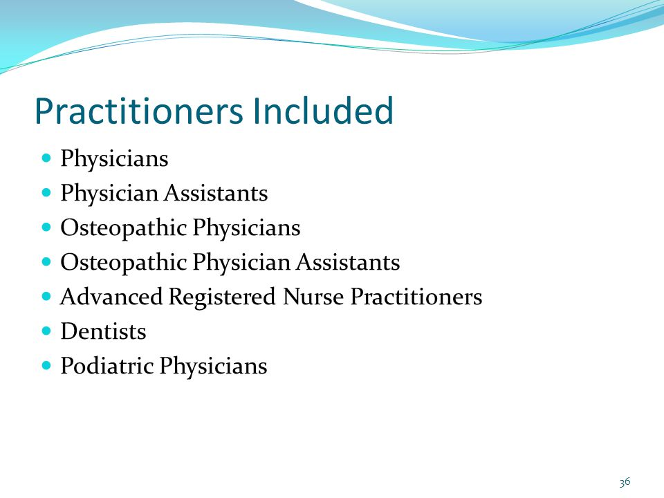 Practitioners Included