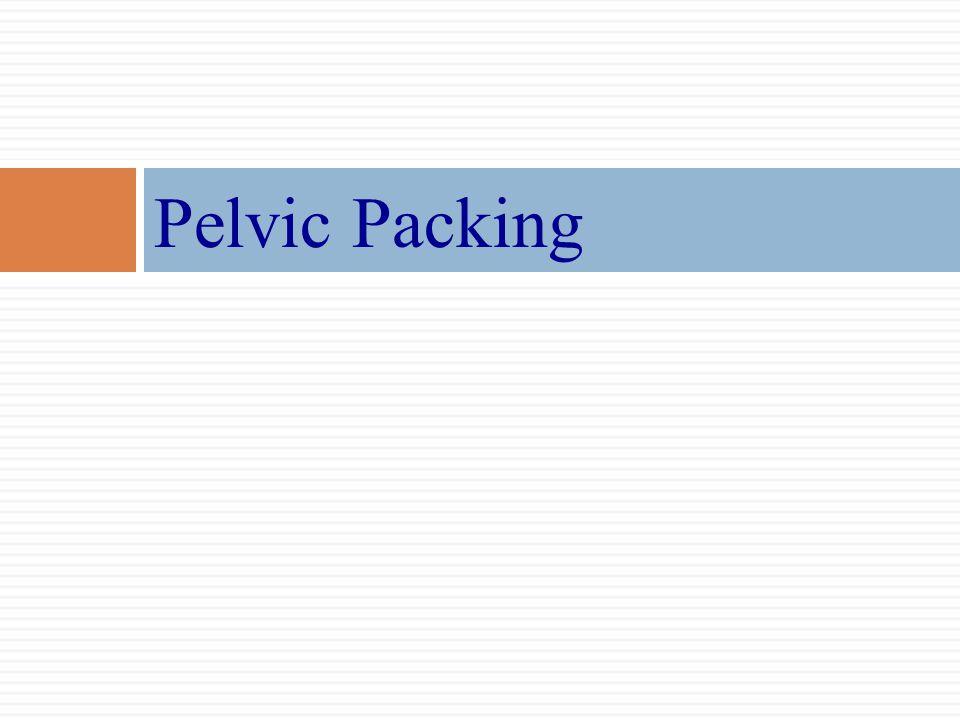 Pelvic Packing