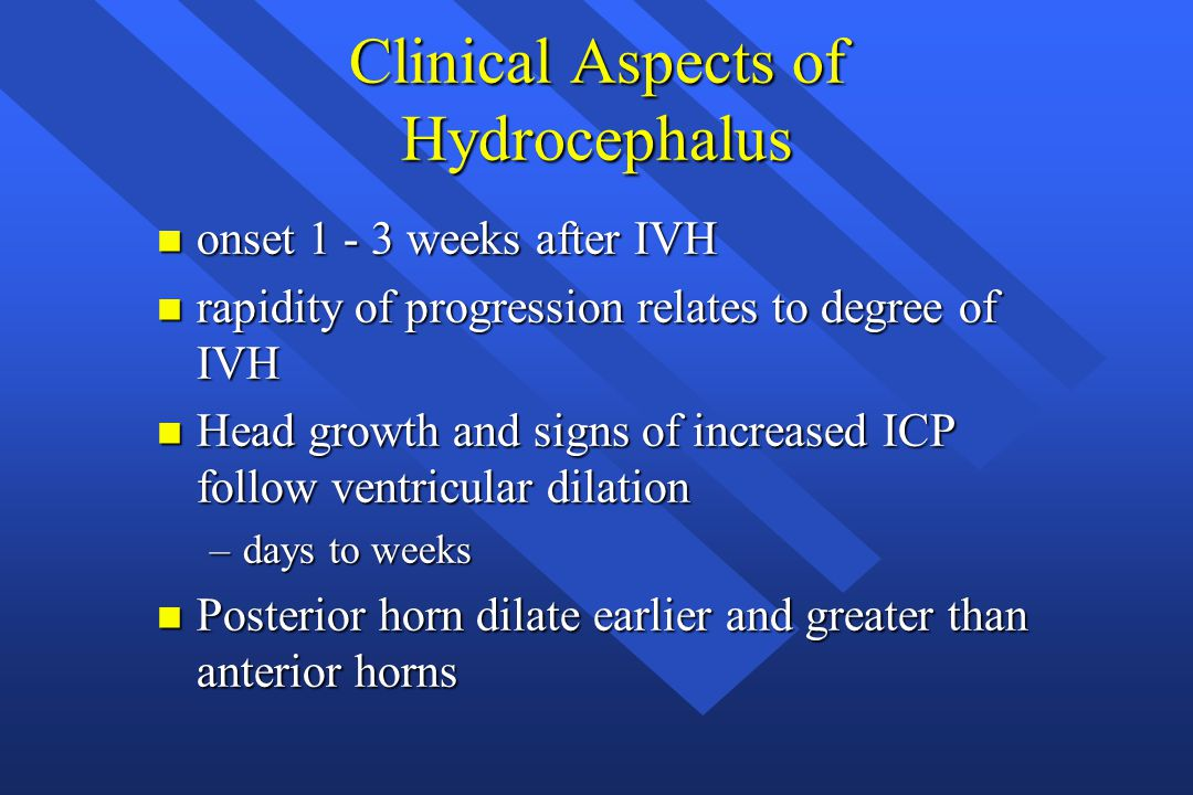 Clinical Aspects of Hydrocephalus