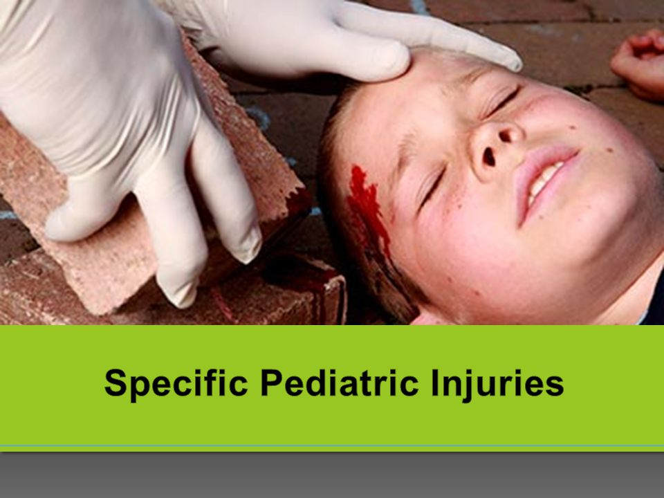 Specific Pediatric Injuries