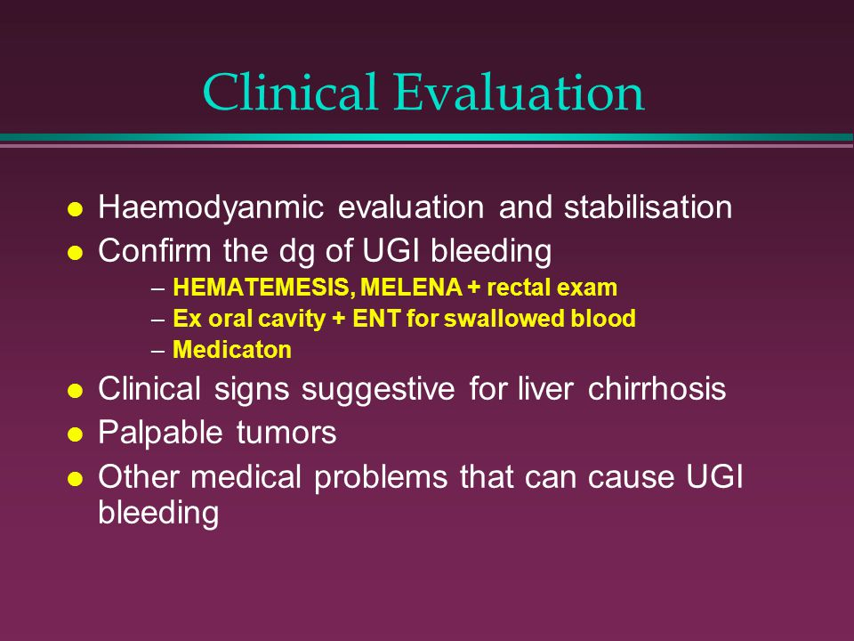 Clinical Evaluation Haemodyanmic evaluation and stabilisation
