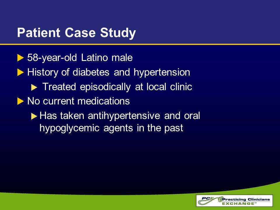 a study of hypertension
