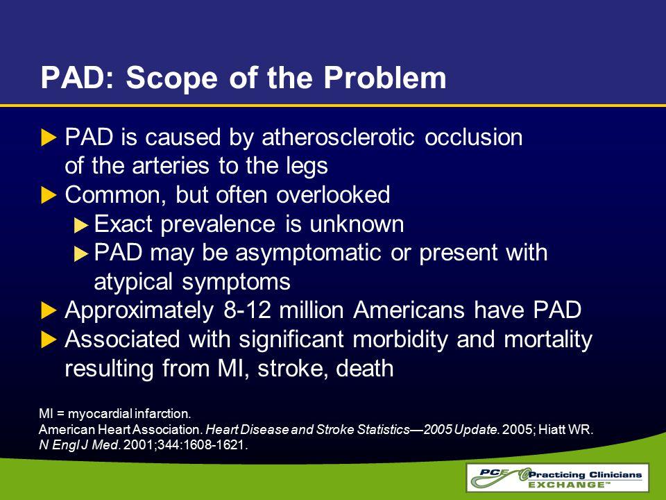 PAD: Scope of the Problem