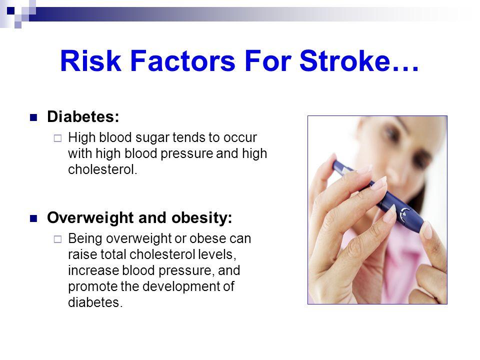 Risk Factors For Stroke…