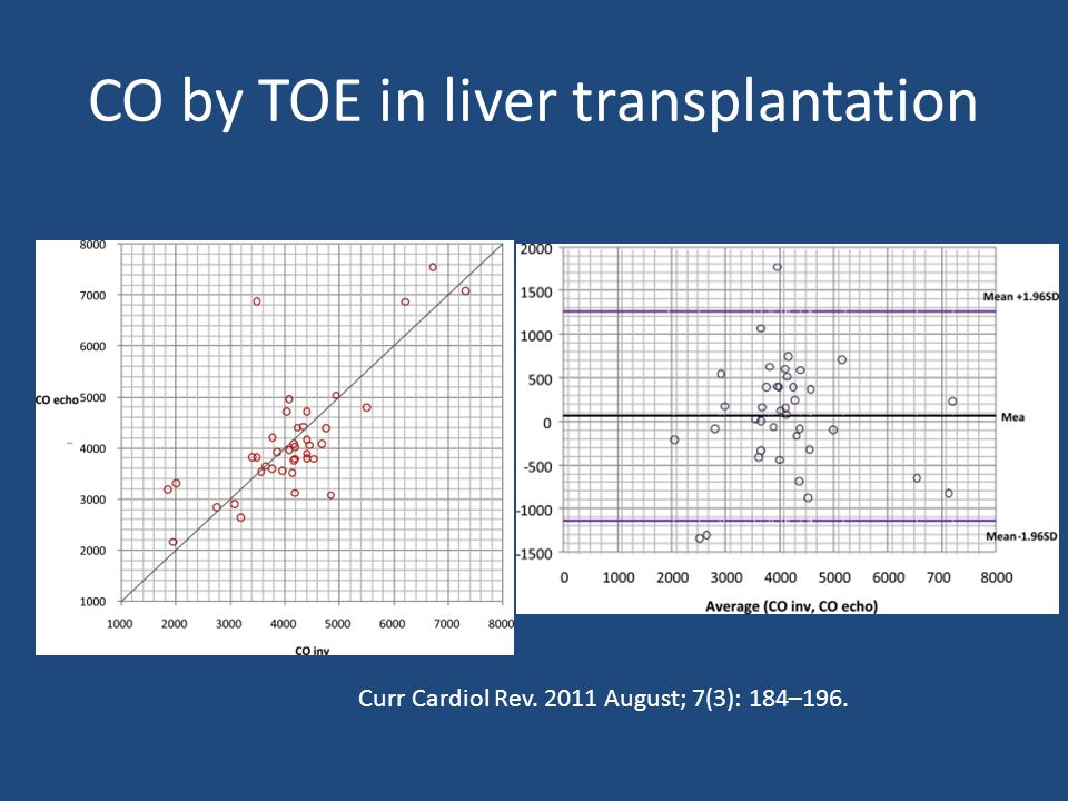 CO by TOE in liver transplantation