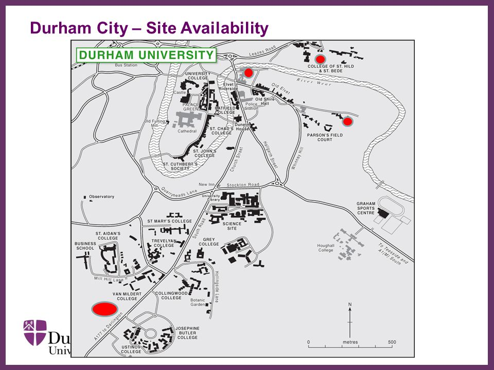 Durham City – Site Availability