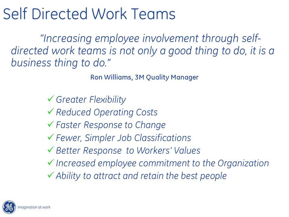 Self Directed Work Teams