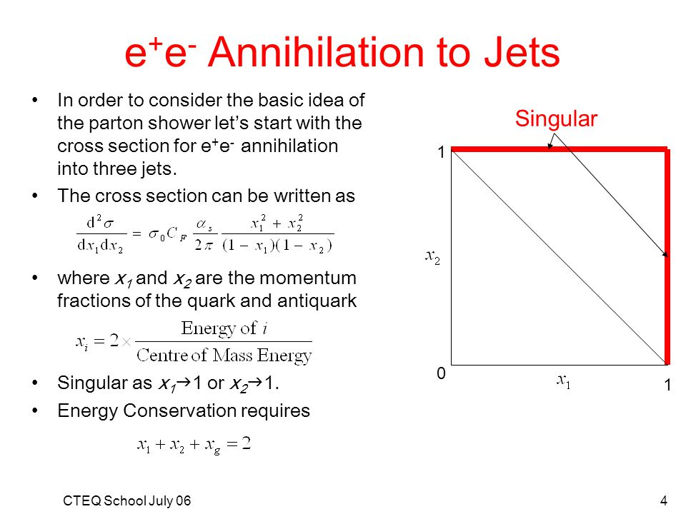 e+e- Annihilation to Jets
