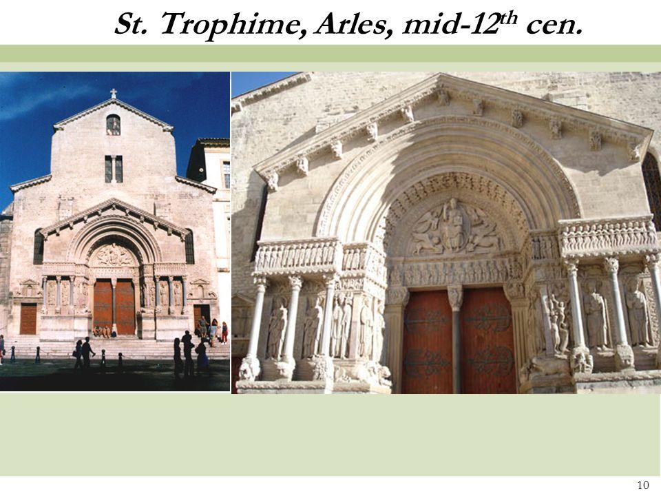 St. Trophime, Arles, mid-12th cen.