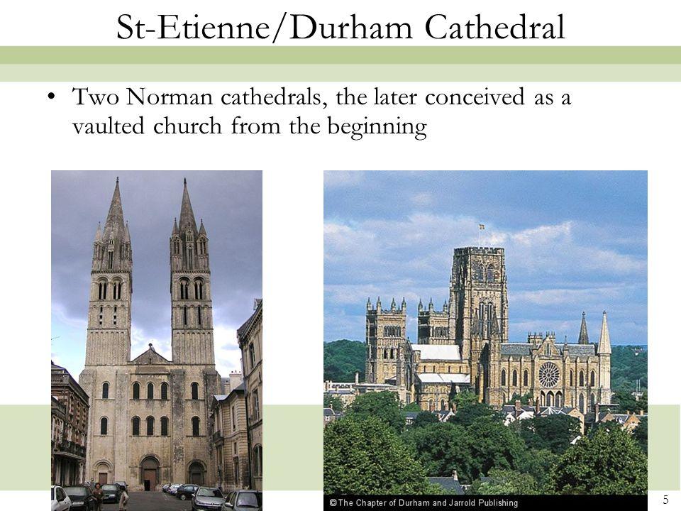 St-Etienne/Durham Cathedral