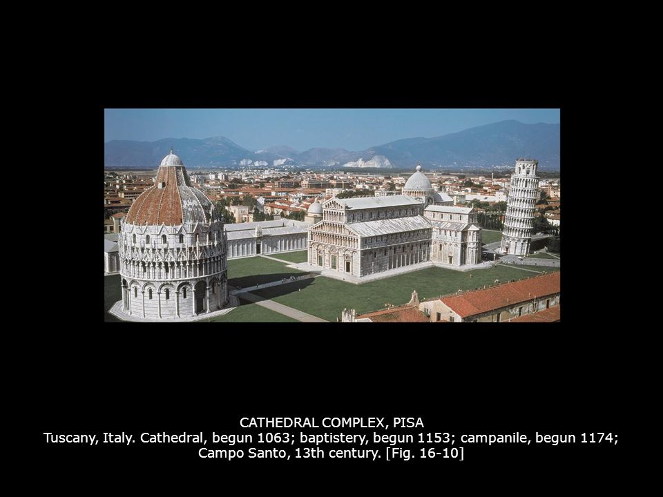 CATHEDRAL COMPLEX, PISA Tuscany, Italy