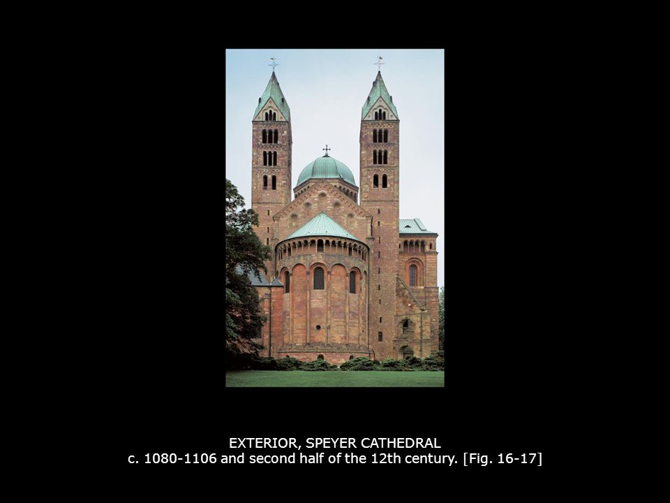EXTERIOR, SPEYER CATHEDRAL c