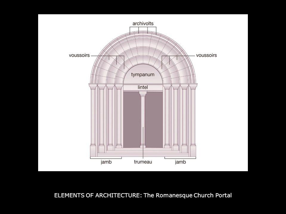 ELEMENTS OF ARCHITECTURE: The Romanesque Church Portal