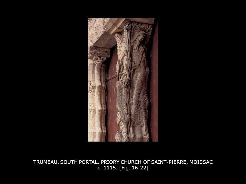 TRUMEAU, SOUTH PORTAL, PRIORY CHURCH OF SAINT-PIERRE, MOISSAC c. 1115