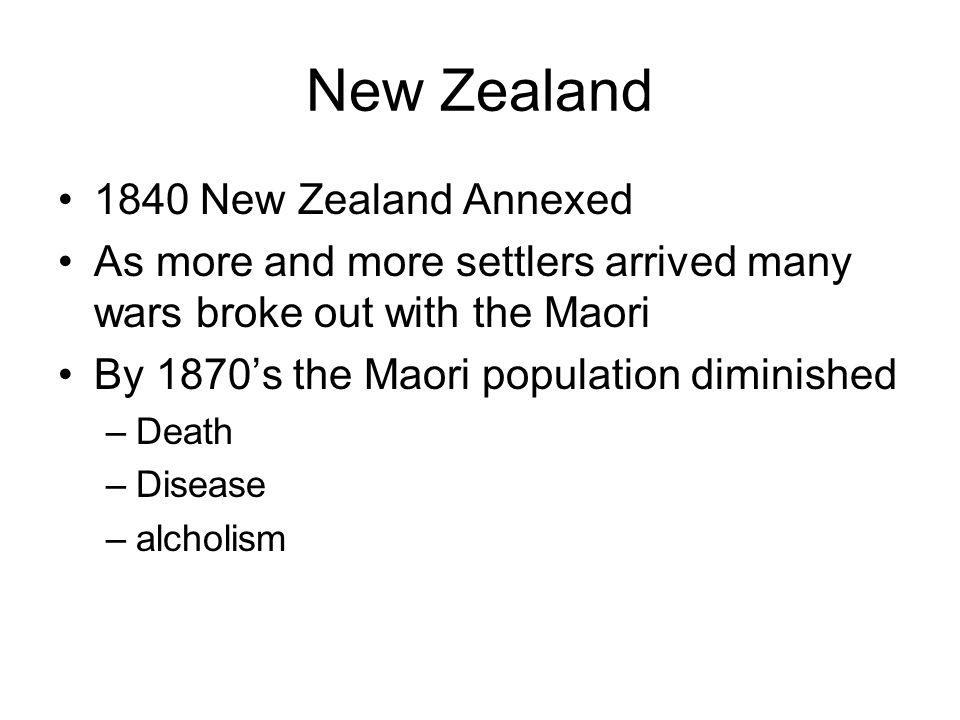 New Zealand 1840 New Zealand Annexed