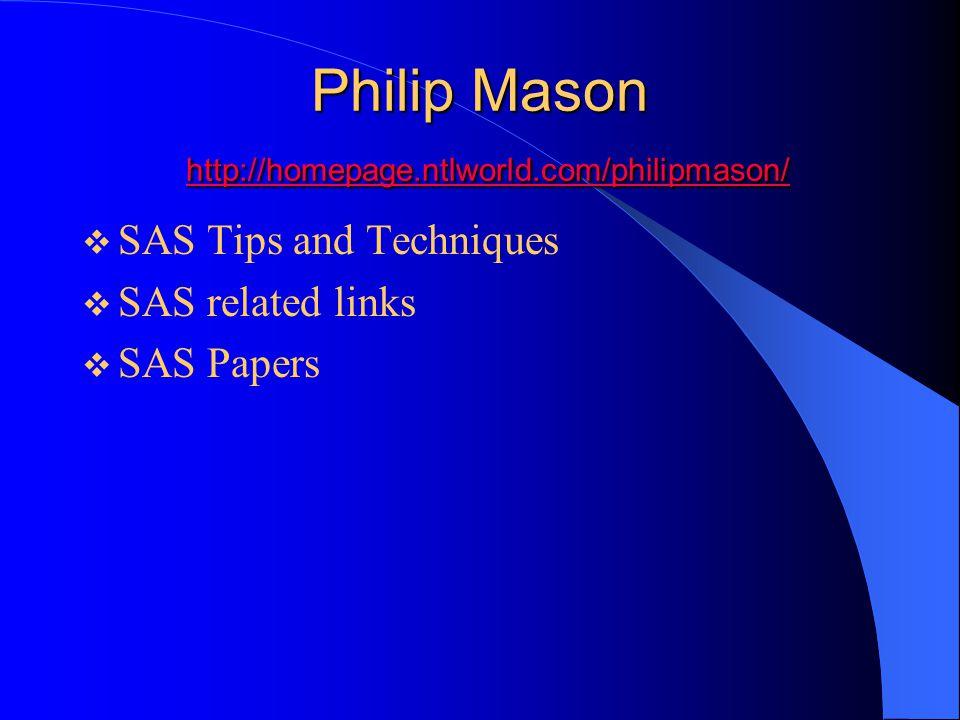 Philip Mason http://homepage.ntlworld.com/philipmason/